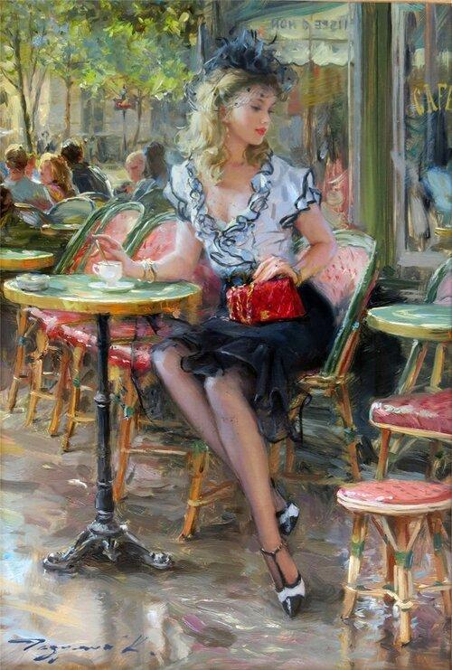 RAZUMOV, Konstantin, peintre impressionniste, partie 2 (Arti- peintures)