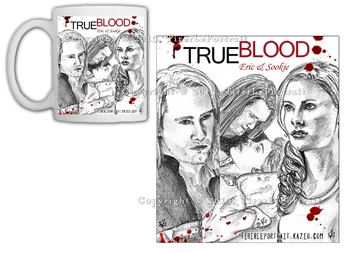 True Blood Eric Sookie Mug simple