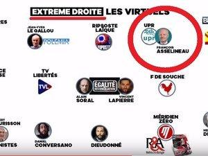 France 5 épinglée par le CSA pour avoir présenté l'UPR comme un parti d'extrême droite