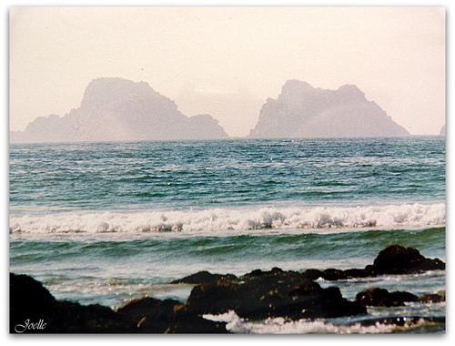 la mer suite ..tas de pois -Camaret