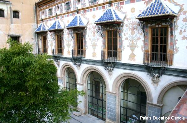 Gandia, le palais ducal de Borja
