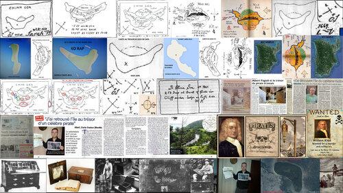 Les clefs de l'ile au trésor du capitaine William Kidd depuis le 25 novembre 2014.(Albert Fagioli)