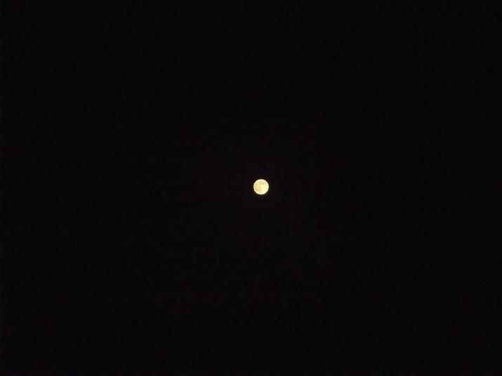 Super Lune vu du Maroc le 10/08/2014