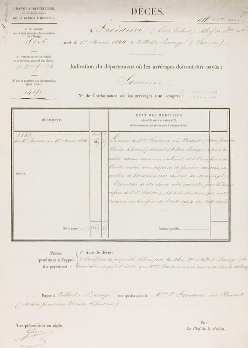 * FROIDURE  Louis-Hubert