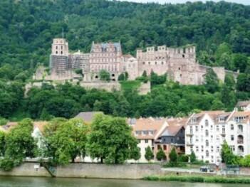 158-Le chateau de Heidelberg