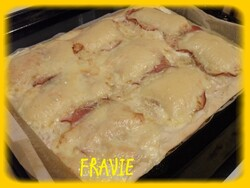 pizza raclette/bacon