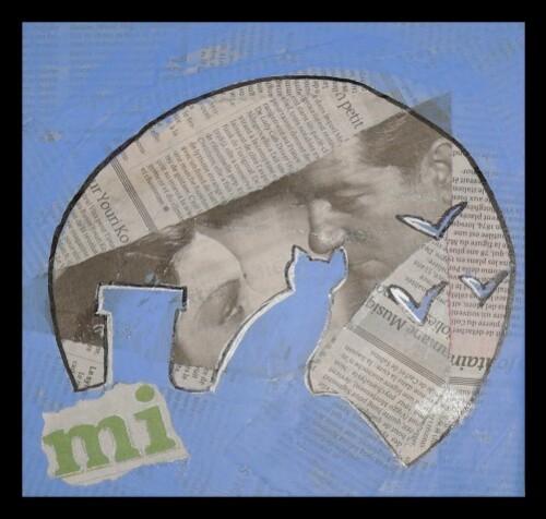 tableau journal chat sous la lune oska & co créations