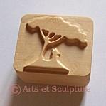 tampon à beurre personnalisé - Arts et Sculpture