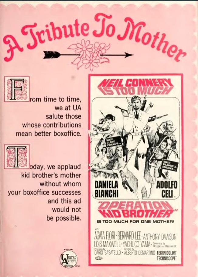 BOX OFFICE USA DU 31 OCTOBRE 1967 AU 6 NOVEMBRE 1967