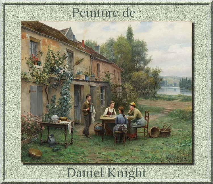 Peinture de ; Daniel Knight