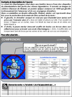 """Carte d'identité du """"vitrail de Charlemagne"""""""