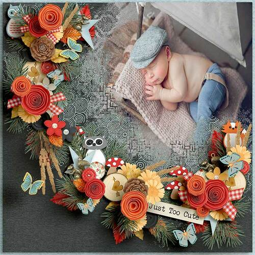 Feeling Autumn by dentelle scrap art