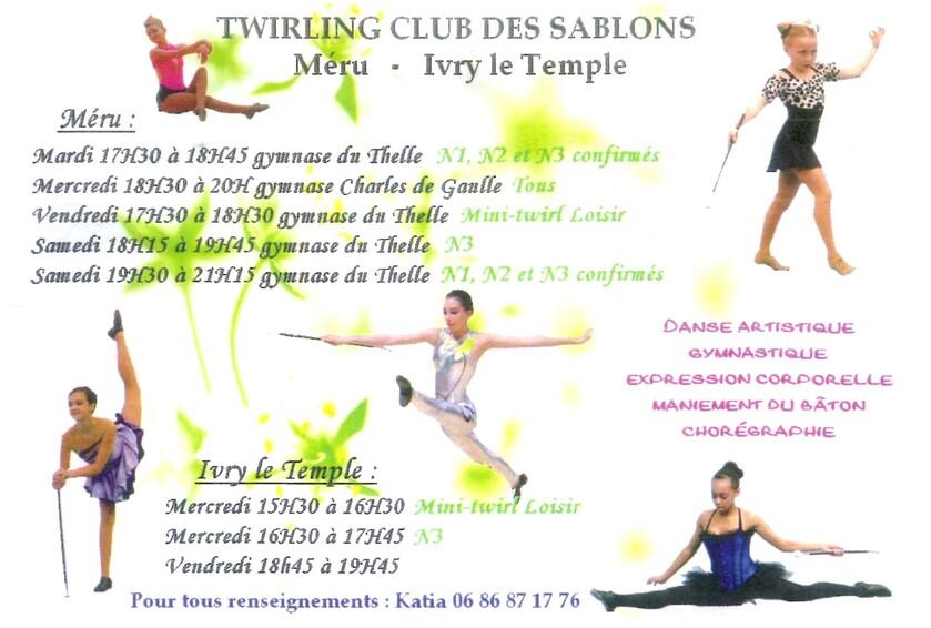 Twirling Club Sablons