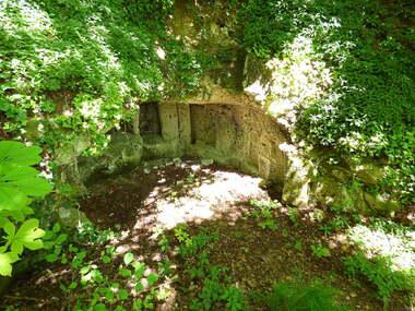 Les grottes d'Orival