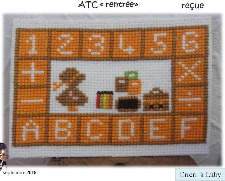 """ATC """"rentrée"""""""