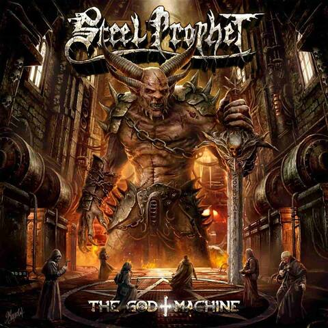 STEEL PROPHET - Les détails du nouvel album The God Machine