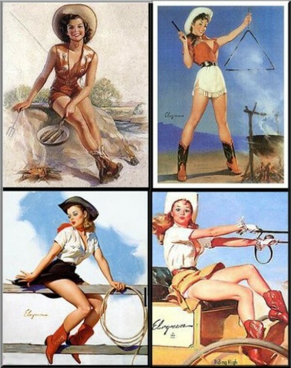 5 Images de Pin-Up