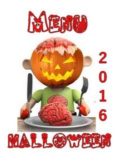 Menu Halloween 2016