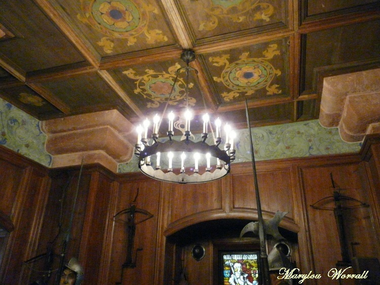 Haut-Koenigsbourg : Salles des trophées et des armes
