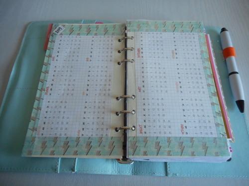 Bullet journal / Planner : Mon planner actuel acheté chez Action