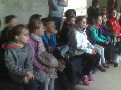 Sortie scolaire au château de Suscinio