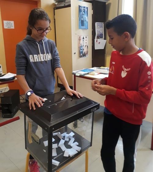 L'élection des délégués de classe