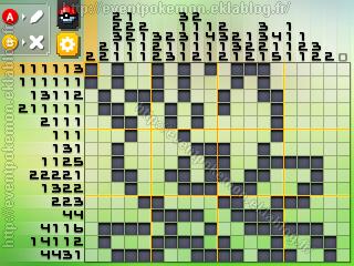 Celebi Pokémon Picross