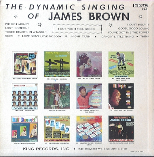 "1965 James Brown : Album "" I Got You [ I Feel Good ] "" King Records K-946 [ US ]"