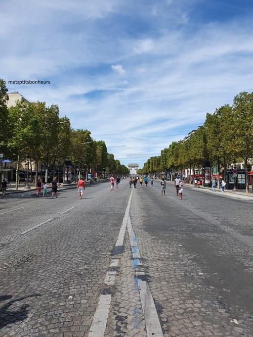 ...à Paris au mois d'août!