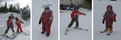 Dernière sortie ski!