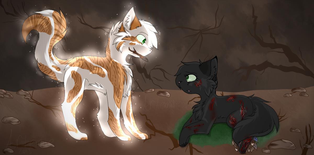 Feuille de Houx et Feuille Morte (Hollyleaf and Fallen Leaves) - Warrior  Cats Project