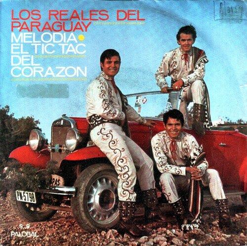 Los Reales Del Paraguay - Melodía