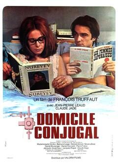 DOMICILE CONJUGAL - AFFICHE FRANCE