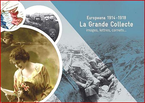 """Le Centenaire : un extraordinaire document sur le web : """"Europeana 1914-1918"""""""