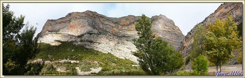 A la sortie des Congost (gorges) de Terradets - Pallars Jussà - Catalogne - Espagne