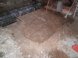 Préparation du sol du rez-de-chaussée (2)