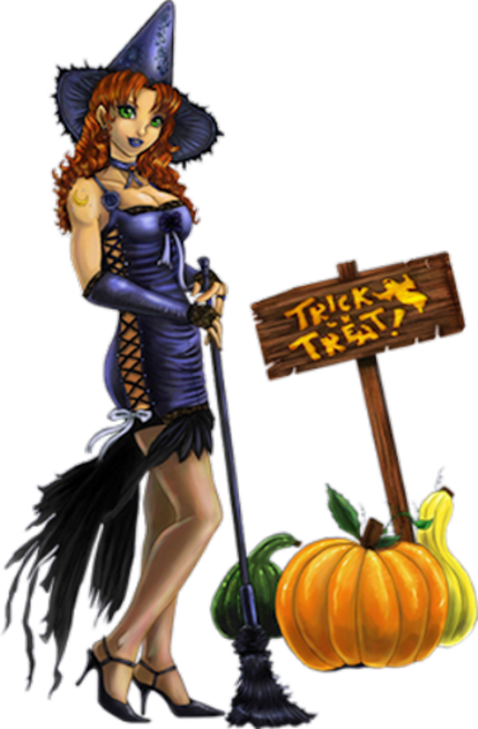 Personnage Halloween 23