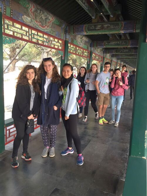 Au Palais d'Eté, à Beijing