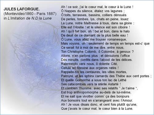 Le coeur à la Lune - Jules Laforgue
