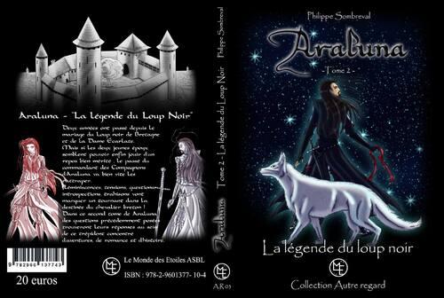 Philippe Sombreval dévoile la quatriéme de couverture du tome deux d'Araluna