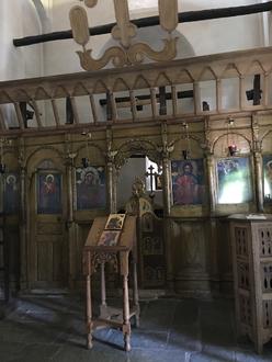 Makrinitsa - intérieur de l'église