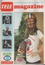 Mai 1976 : Session Football américain.