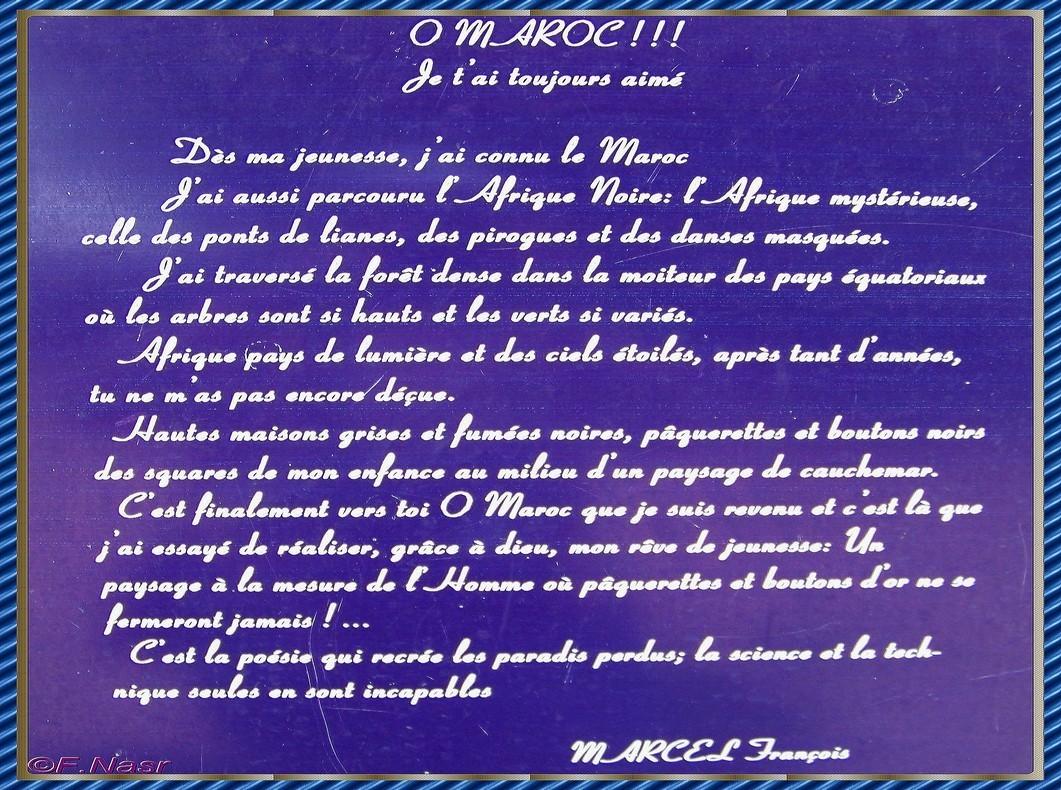 Les Jardins Exotiques De Bouknadel A Rabat Texte De Marcel