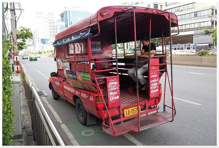 Rues de Bangkok. Thaïlande