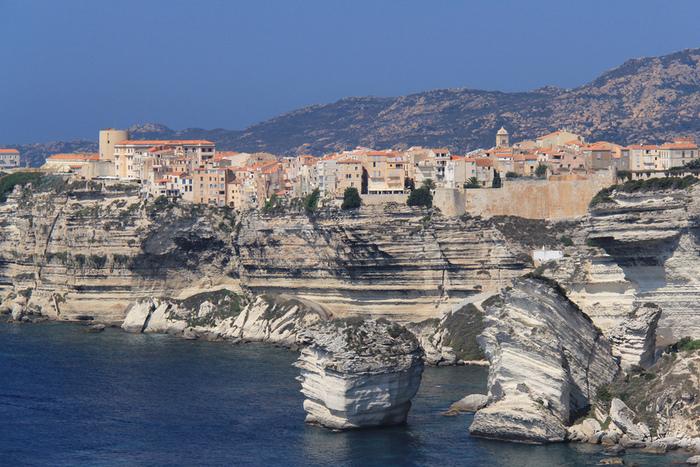 Bonifacio sur l'île de Corse, France