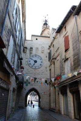 Côté intérieur de la vieille ville