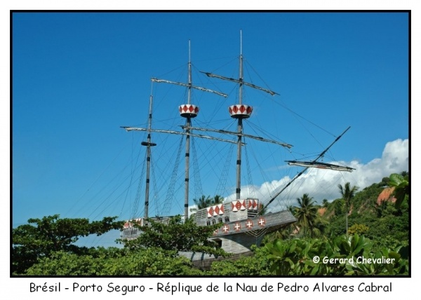 La Nau (Caraque) de Pedro Alvares Cabral.