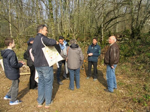 """""""Vis ma vie de forestier"""", une très agréable et instructive balade dans la forêt Châtillonnaise..."""