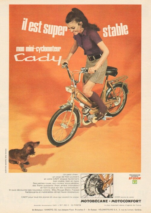 Cyclomoteur Cady