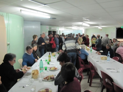 NOS SOIREE REPAS 2011